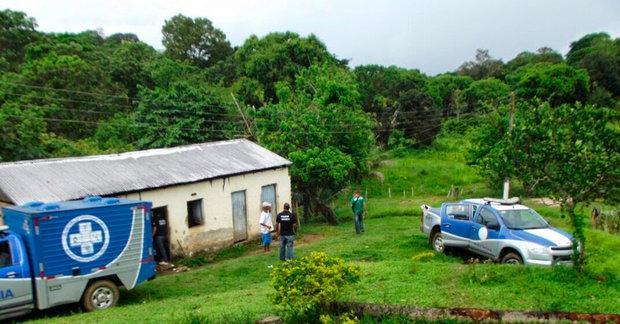 Idoso foi encontrado morto dentro de casa pelo vizinho (Foto: Vermelhinho BA)