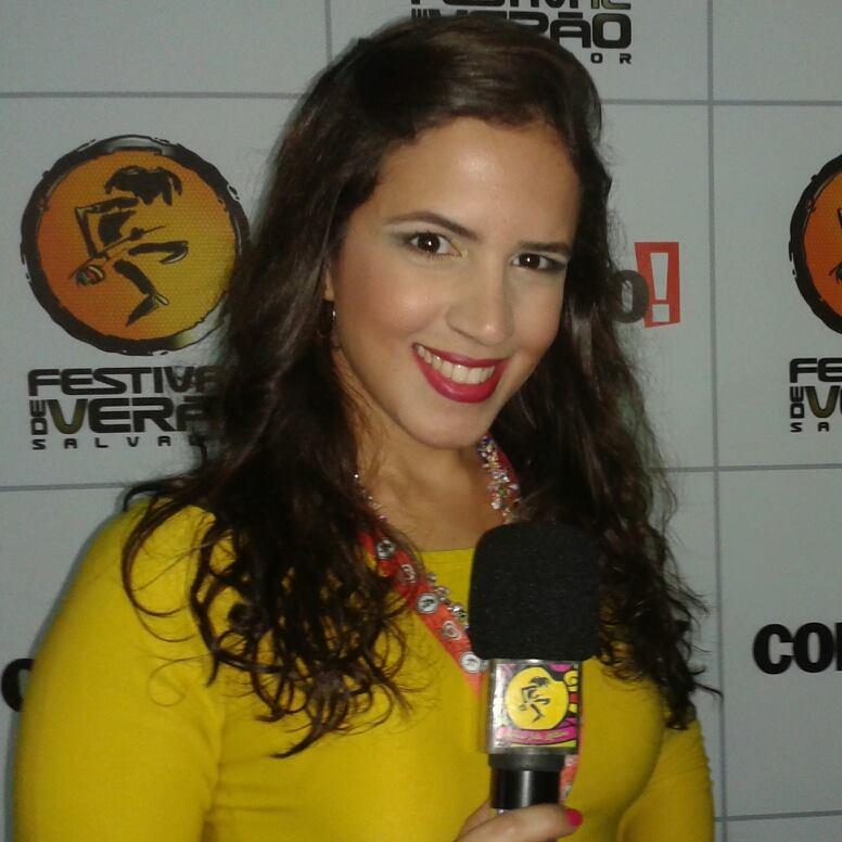 Paula Queirós vem mostrando sua competência na TV Aratú.
