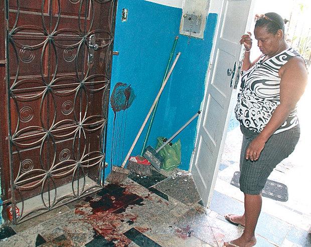 Ao ver aproximação de policiais, Luís Vagner correu, mas foi baleado (Foto: Evandro Veiga)