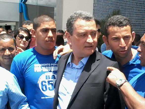 Ccharles Gusmão cobrou do governador empenho na conclusão da obra