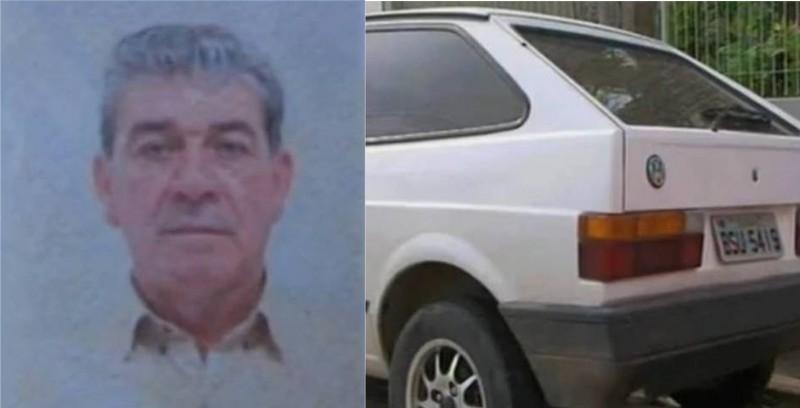 Auri Assis Ramos, 59, estava morto no porta-malas