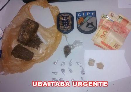 Grande quantidade de drogas foi  apreendida pelas Policias Civil e Militar