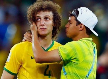 Os zagueiros David Luiz e Thiago Silva, do PSG. Fotos: CBF | Divulgação