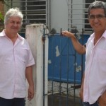 UBAITABA: BÊDA E KARLOS MODA VISITAM DELEGACIA E SE REÚNEM COM COORDENADOR DA 7ª COORPIN EM ILHÉUS