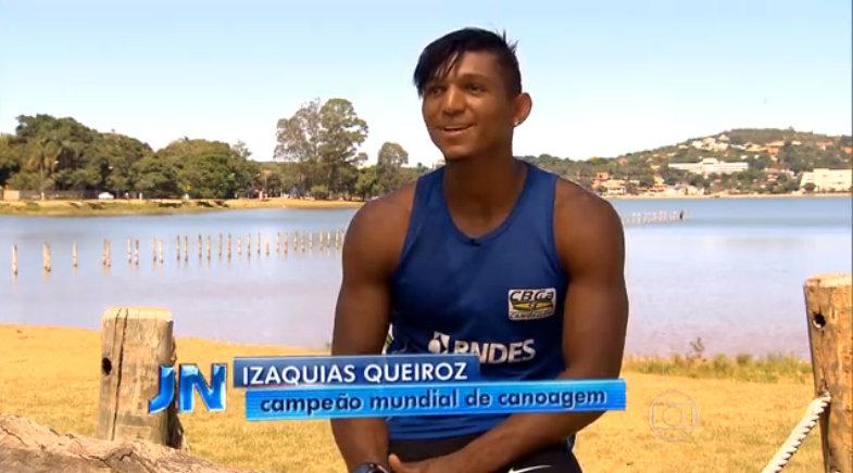 O canoita ubaitabense Isaquias vem colecionando títulos na canoagem brasileira