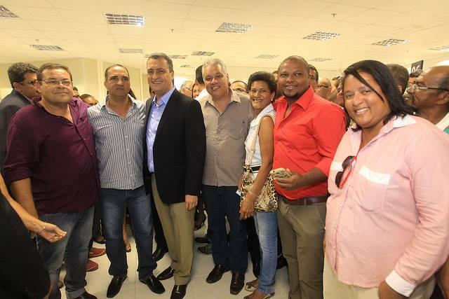 Jailton e outras lideranças foram recebidos pelo governador