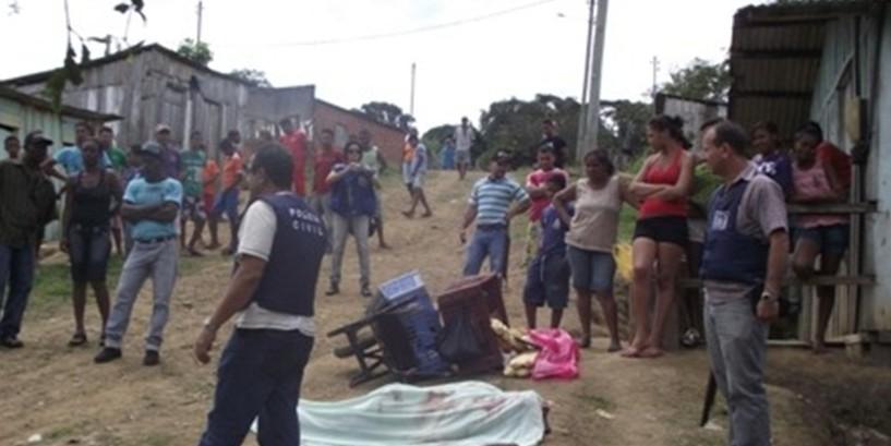 A Bairro Zitão é considerado um dos mais violento da cidade.