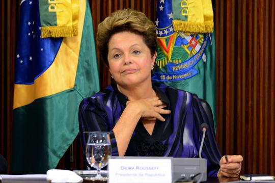 Após deixar a Bahia, Dilma se reúne com ministros do núcleo político (Foto: EBC)
