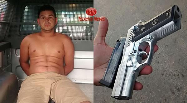 Josué Prado dos Santos (Wolverine), 23 anos, acusado de participar do assassinato do sargento Dalvino Magalhães Filho
