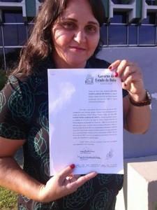 Solange acabou sendo desautorizada pelo secretário estadual de Educação, Osvaldo Barreto, que a convocou para solenidade em Salvador