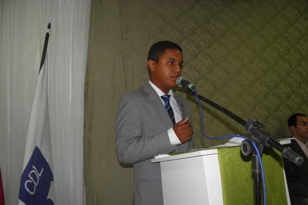O presidente Isaac em seu discurso destacou as principais realizações