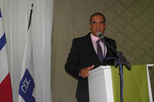 Jaílton defendeu a união de todos comerciantes e prometeu trabalhar para o desenvolvimento da cidade