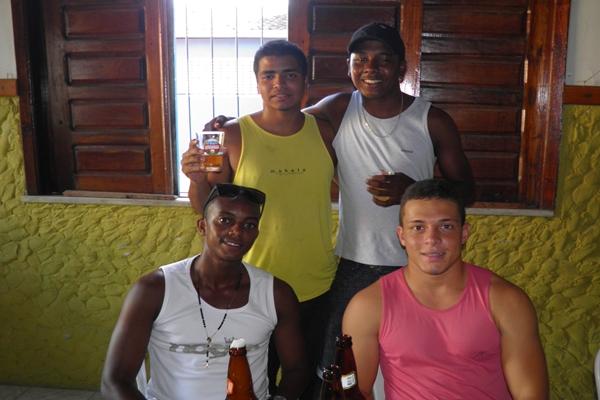 David e os amigos, Clécio, Sucão e Tauã