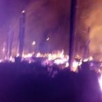 UBAITABA: INCÊNDIO DESTRÓI 04  BARRACOS NO BAIRRO ARMANDÃO