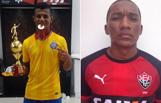 Os atacantes Cristiano, do Bahia e Eronildo, do Vitória, foram convocados pelo técnico da Seleção Brasileira sub-17,