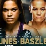 EM MAIS UMA LUTA PELO UFC, AMANDA NUNES ENFRENTA A NORTE-AMERICANA  SHAYANA BASZLER