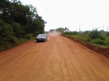 A pavimentação dessa rodovia vai  beneficiar milhares de pessoas