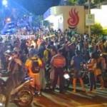ITABUNA: PROTESTO PAROU UNIME NA NOITE  DESTA QUARTA FEIRA