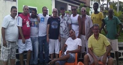 Jaílton esteve acompanhado do vereadores Catarino, Ismaile  e outras lideranças do seu grupo