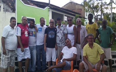 Jaílton esteve acompanhado do vereador Catarino e outras lideranças do seu grupo
