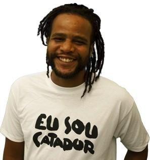 Tião Santos fala  faz palestra na Praça das Mangueiras, em Barra Grtande