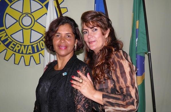 As senhoras da Casa da Amizade, Norma Ribeiro e Luisa Beatriz