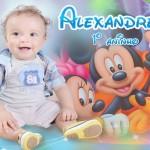 ALEXANDRE RECEBEU FESTA PELO SEU PRIMEIRO ANINHO