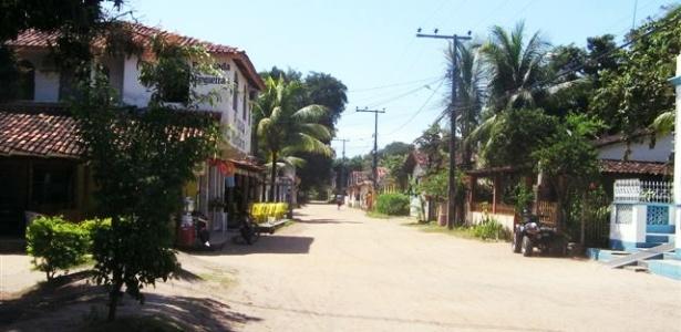 O povoado de Barra Grande costuma receber centenas de veranistas nessa época.