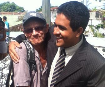 O nome do vereador Josimar vem recebendo apoio das pessoas humildes