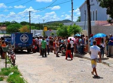 A mulher foi morta a tiros dentro da casa onde morava, em Jaguarari, na região centro-norte da Bahia,