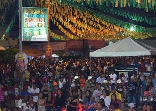 A festa de S. João  é o evento mais importante de Ubaitaba