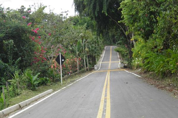 O trecho da rodovia  está concluída e será inaugurada no dia 15 de Maio