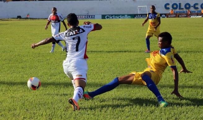 O clube conquistou a vaga após a derrota sofrida contra o Juazeirense, no estádio Adauto Moraes, em Juazeiro