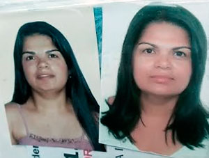 Rosilene Ramos dos Rio, 31 anos, foi atingida por cerca de 40 golpes de faca.