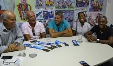 Atletas do Remo Máster Baiano   Foto: Jamile Amine/Bahia Notícias