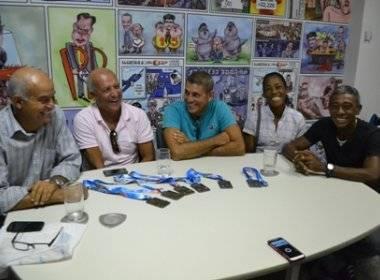 Atletas do Remo Máster Baiano | Foto: Jamile Amine/Bahia Notícias