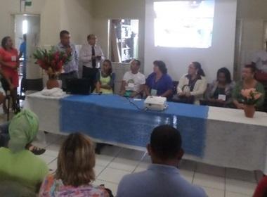 O secretário Municipal de Educação, Cláudio Bidu, explica a importância do PME