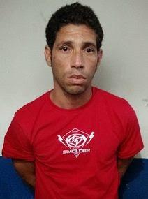 Gil Iuri Alves Nunesmaia, 34 anos, que foi preso no final de semana, acusado de assalto à mão armada e sequestro em Itacaré