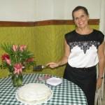 Secretária do Rotary de Ubaitaba, Elied Soares, comemora idade nova