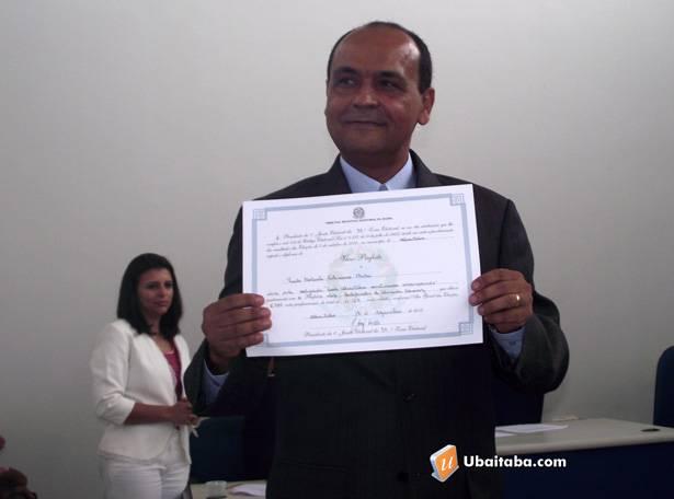O vice prefeito, Paulo Bidú assume a prefeitura no próximo dia 16