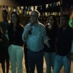 AURELINO LEAL: PREFEITA INAUGURA PRAÇA URBANIZADA EM POÇO CENTRAL COM SHOW DE BINHO ALVES .