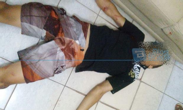 Um dos bandidos foi atingido pelo comerciante