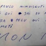 PRESO FOGE E DEIXA BILHETE COM PEDIDO DE DESCULPAS AO DELEGADO