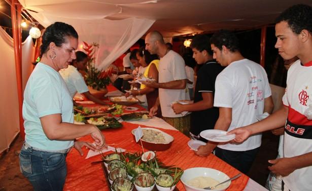 O festival da Tainha costuma reunir centenas  de visitantes e tursista