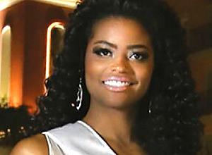 Ana Luísa Castro, a Miss Mundo Sergipe, foi coroada a mais bela do país, em concurso realizado anteontem, em Florianópolis.
