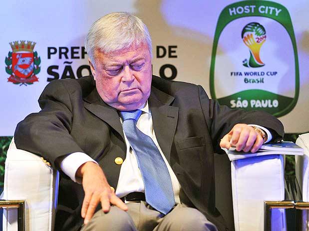 Polícia Federal indiciou o ex-presidente da CBF Ricardo Teixeira pelos crimes de falsificação de documento público,