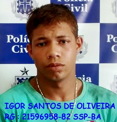 Igor Santos foi encaminhado à Depol de Itambé, juntamente com todo o material apreendido e permanecem `disposição da Justiça.