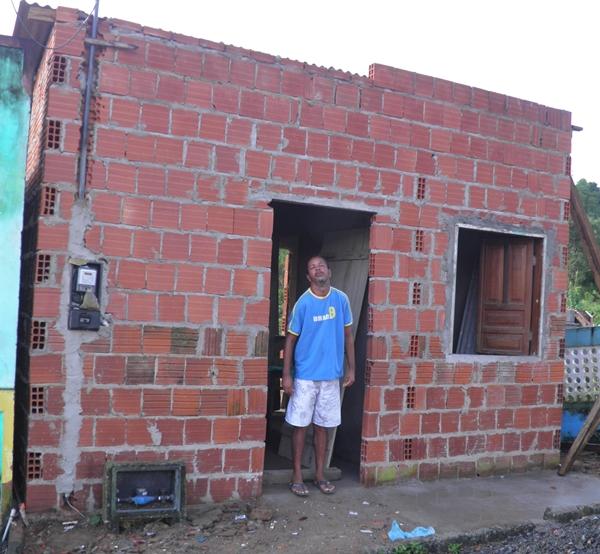 Damião ganhou uma nova casa de bloco