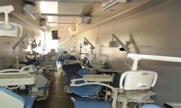 Os consultórios estão totalmente equipados para atender  os pacientes