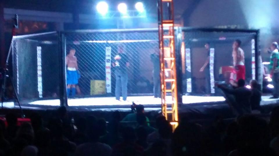 A luta ocorreu na noite deste sábado (18)  Grapiúna Tênis Clube